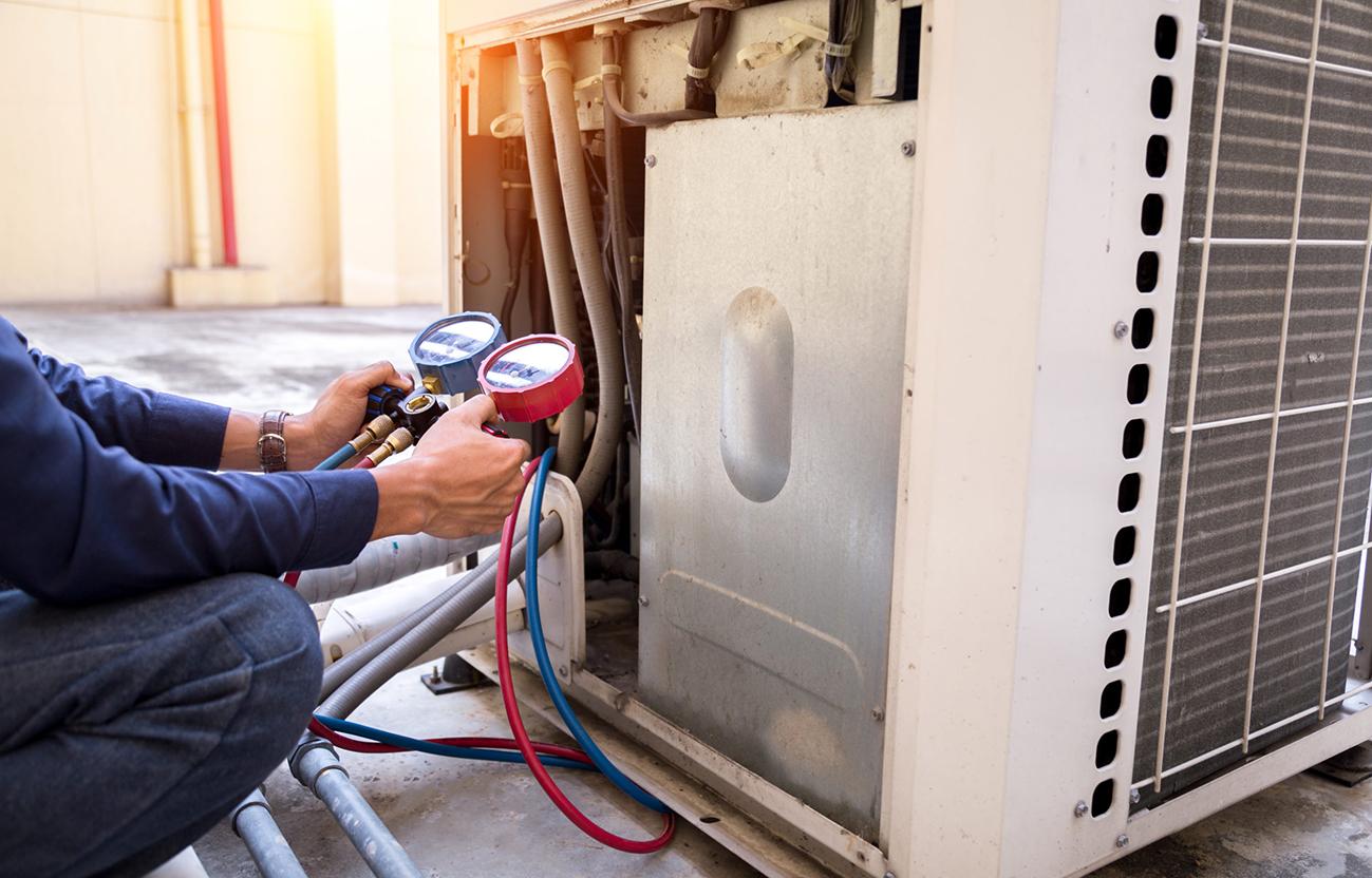 heat pump repairs near me
