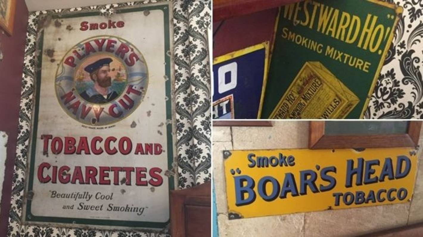 How Antique Signs Show Tobacco Evolution